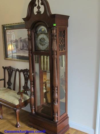 Quot 1999 Turn Of The Century Quot Ridgeway Grandfather Clock