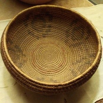 Native American Basket?? - Native American