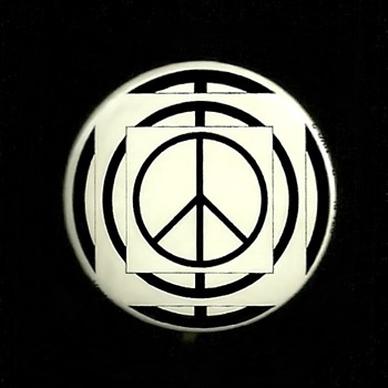 Vets for Peace In Vietnam pinback button