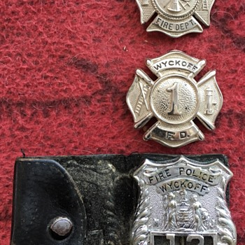Fire Department Badges - Firefighting