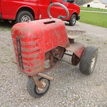 Vintage Sears Yard-Hand 3 wheeled Tractor