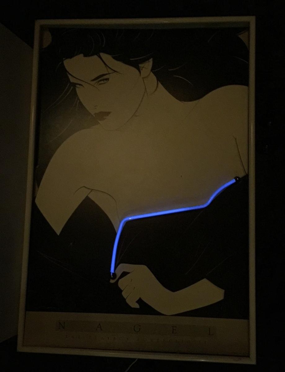 Rare Patrick Nagel Neon Playboy Portfolio II Poster | Collectors Weekly