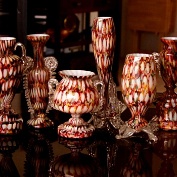 Welz Décor Families of Shapes - Multiple Confirmations Leading to Multiple Shapes - Art Glass