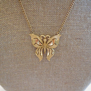 A Crown Trifari Butterfly Necklace Is Loved Again . . . Or What Goes Around Stays Around! :^) - Costume Jewelry