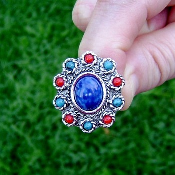 Sarah Coventry Ring - Navajo - Costume Jewelry