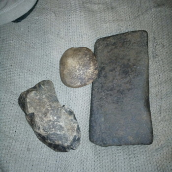 Archaic Guilford axe mill stone grinding stone  - Native American
