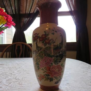 satsuma style vase? - Asian