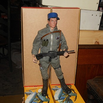 GI Joe 40th Anniversary Parts Bash Helicopter Pilot - Toys