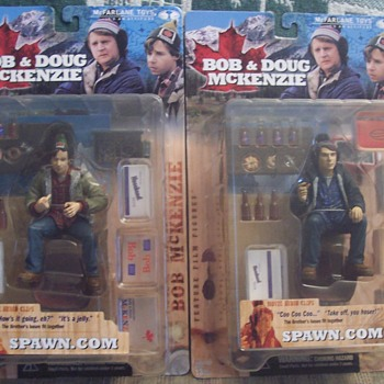 Bob & Doug McKenzie figure's for Caperkid! - Toys