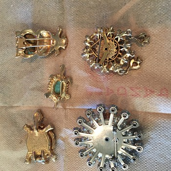 Great grandma's jewelry - Costume Jewelry