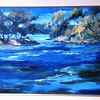 "Original Brandon Warren FRSA Oil Painting 1975  30 x 24"""