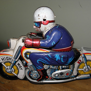 Toy Tin motorcycle Japan - Toys