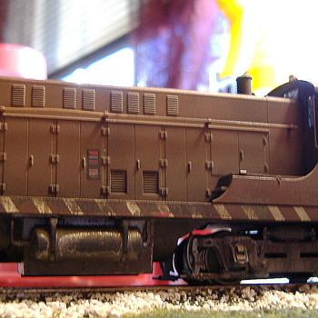 EJ&E #476 VO-1000 HO scale - Model Trains