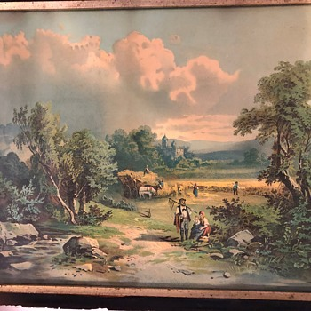 Cannot identify painting - Fine Art