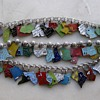 Update finished today!  1/23/17: 1960's-70's enamel state charm bracelet