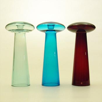 ATLAS candleholder, Harri Koskinen (Iittala, 1996) - Art Glass