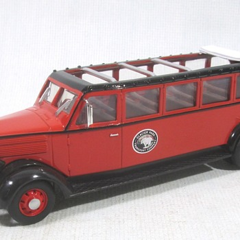 White Motor Co Glacier Park Bus
