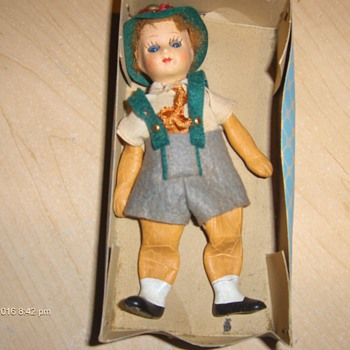 5cm boy doll made in italy