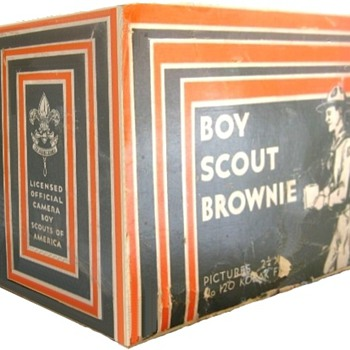 Boy Scout Brownie & Six-20 Boy Scout Brownie - Cameras