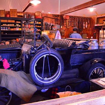 Early 20th Century Garage