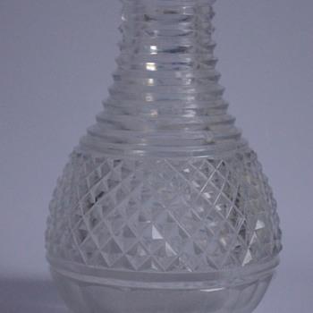 Regency Carafe - Art Glass