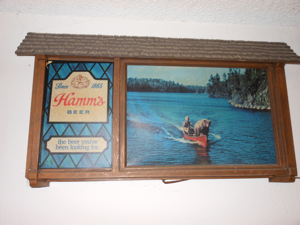 Hamms Beer Sign Collectors Weekly