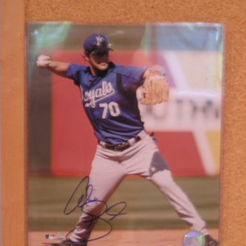 Alex Gordon Autographed Photo - Baseball