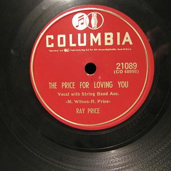 Ray Price 78's