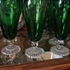 Please Help Identify these Green Goblets