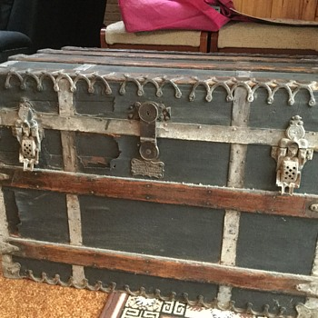 Old trunk  - Victorian Era