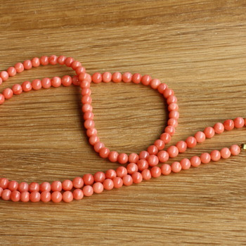 Coral necklace - Fine Jewelry