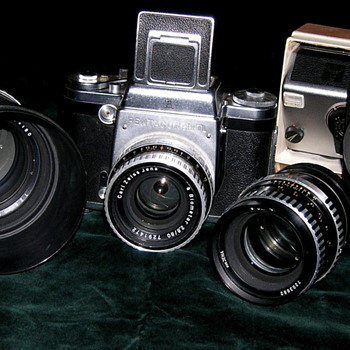 The Pentacon Six line   - Cameras