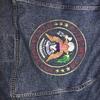 Levi vintage embroidered United States of America seal denim jacket
