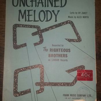 Unchained Melody - song  - Music Memorabilia