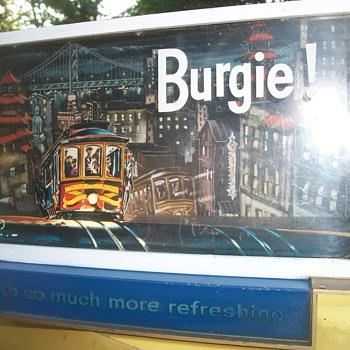 Burgie beer!