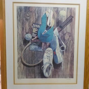 R. LOEHLE PRINT - Fine Art
