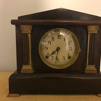 Sessions 8 Day Half Hour Strike Cathedral Gong Mantle Clock - Clocks