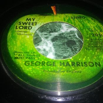 Mr. George Harrison...On 45 RPM Vinyl - Records