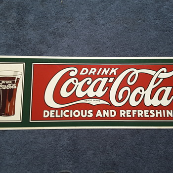 Coke sign?