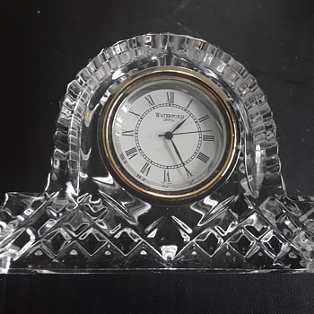 Waterford Glass clock - Glassware