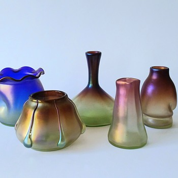 "Lötz for Bakalowits, ""Luna"", ""Syrius"" and ""Vulcan"". - Art Glass"