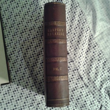 1850 Harpers Magazine 1st issue 1st Printing