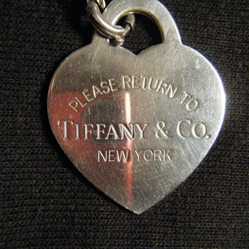 TIFFANY STERLING SILVER CHARM-MARKED 925 - Fine Jewelry