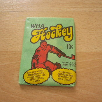 1975-76 WHA O PEE CHEE UNOPENED PACK - Hockey