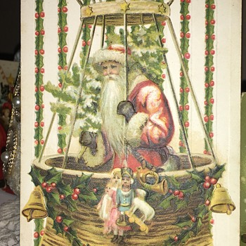 Made in Germany Christmas Postcard 1911 - Postcards