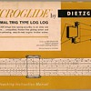 1960 - Dietzgen Slide Rule Instruction Manual