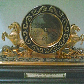 "Franklin Mint ""Cutty Sark"" 125th Anniversary Barometer / Circa 20th Century"