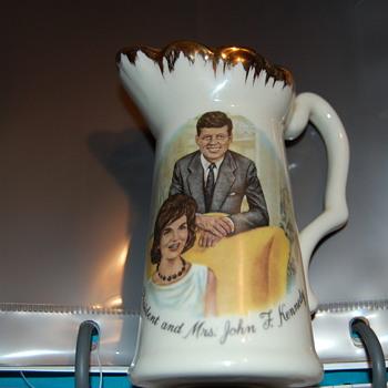 Mr. & Mrs. JF Kennedy - China and Dinnerware