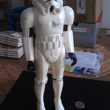 Vintage 1978 Original Star Wars Stormtrooper Figure General Mills - Toys