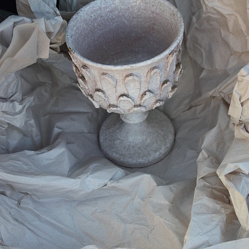 Italian Mid Century Goblet - Studio Pottery - Pottery